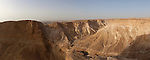 Day 7 - Panoramic View from Masada. This is a composite of 8 images stitched together. (Photo by Brian Garfinkel)