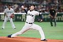 Ayumu Ishikawa (JPN), <br /> MARCH 7, 2017 - WBC : <br /> 2017 World Baseball Classic <br /> First Round Pool B Game <br /> between Japan - Cuba <br /> at Tokyo Dome in Tokyo, Japan. <br /> (Photo by YUTAKA/AFLO SPORT)