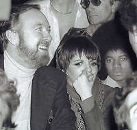 1978 FILE PHOTO<br /> New York City<br /> Jack Haley Jr. Liza MInnelli <br /> Michael Jackson at Studio 54<br /> Photo by Adam Scull-PHOTOlink.net