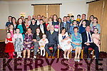 Celebrating the christening of their baby Zac Duffy were proud parents Elizabeth and Brian Duffy from Ballyheigue.Baby Zac was christened in Ballyheigue parish church by Fr Tom Leane on Saturday with a celebration after at Kerins O'Rahillys clubhouse