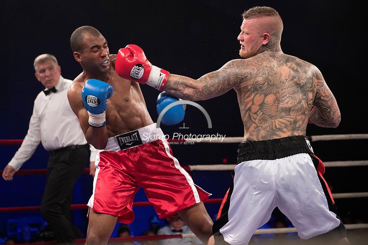 Danish Fight Night i Ceres Arena Aarhus <br /> Daniel Heinze vs Bruno Tavares (Schweiz)