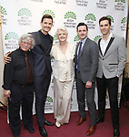Ken Jennings, Mark Evans, Angela Lansbury, Max Von Essen and Ryan Silverman attend the 'Sondheim at Seven' 2017 Gala Benefit Production at Town Hall on June 13, 2017 in New York City.