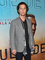 "10 January 2019 - Hollywood, California - Matthew McConaughey. ""True Detective"" third season premiere held at Directors Guild of America. Photo Credit: Birdie Thompson/AdMedia"