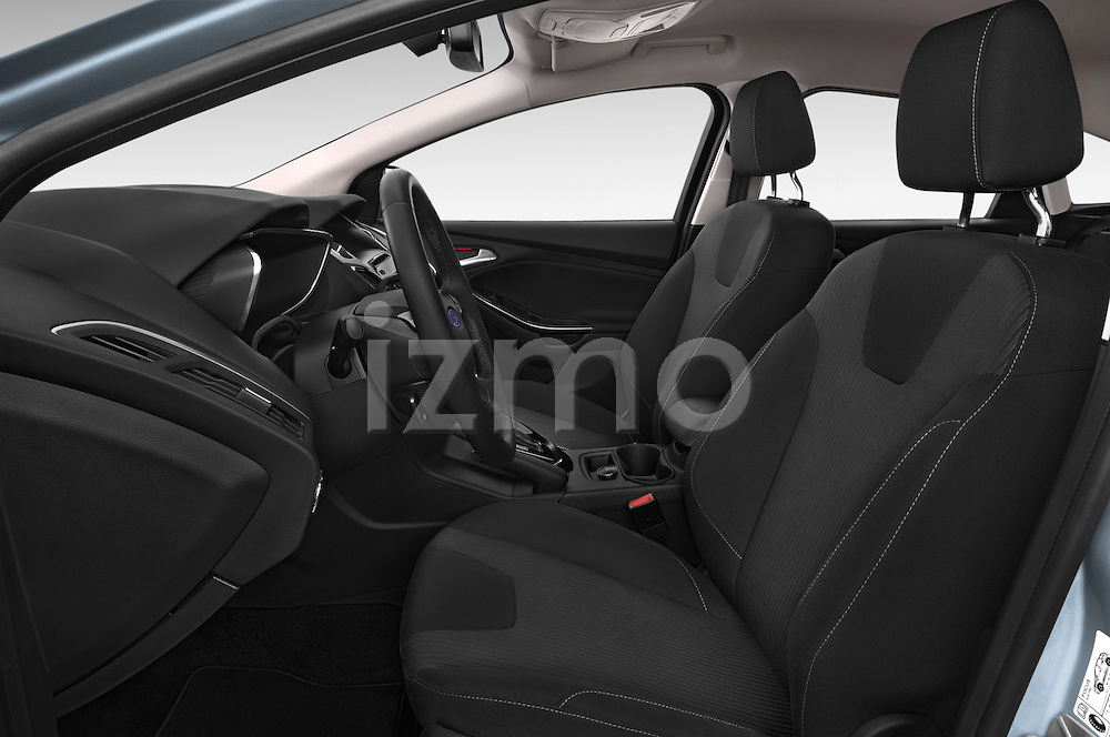 Front seat view of a 2014 Ford FOCUS 5P 107kW Electric 142 ch 5 Door Hatchback 2WD Front Seat car photos