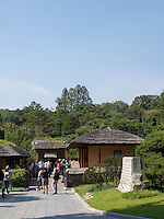 Geburtshaus Ki, Il Sung  in Mangyongdae, Nordkorea, Asien<br /> Birthplace of Kim il Sung  in Mangyongdae, North Korea, Asia