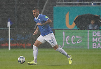 Dario Dumic (SV Darmstadt 98) - 04.10.2019: SV Darmstadt 98 vs. Karlsruher SC, Stadion am Boellenfalltor, 2. Bundesliga<br /> <br /> DISCLAIMER: <br /> DFL regulations prohibit any use of photographs as image sequences and/or quasi-video.