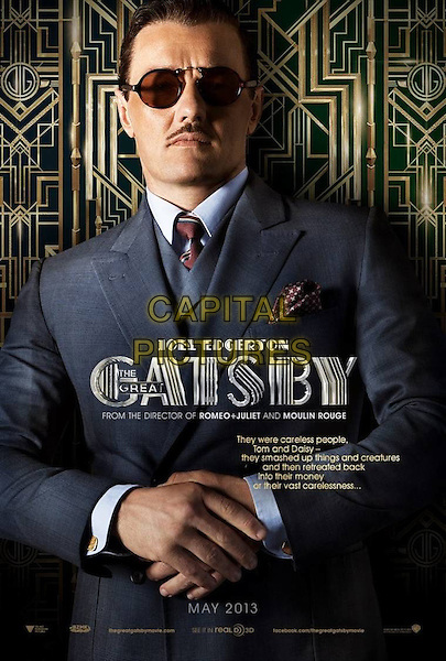 POSTER ART.in The Great Gatsby (2013) .*Filmstill - Editorial Use Only*.CAP/NFS .Supplied by Capital Pictures.