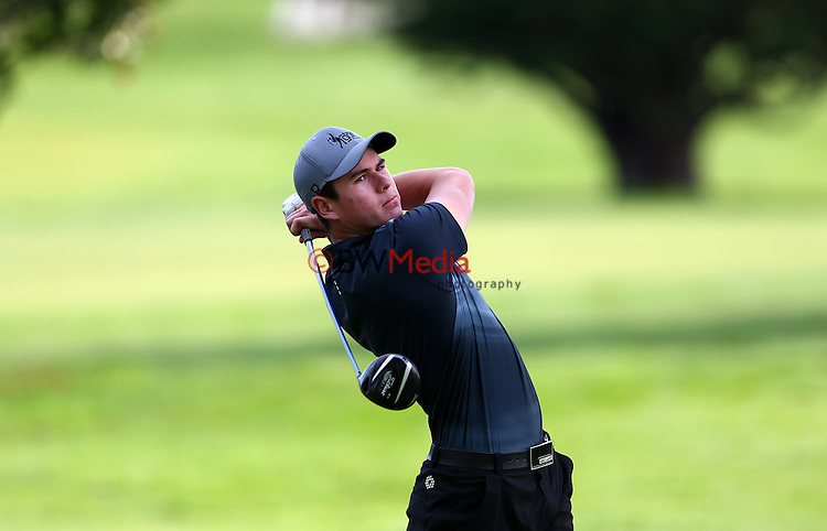 Kadin Neho during Round Two of the Charles Tour Carrus Open, Tauranga Golf Course, Tauranga, New Zealand. Friday 26 September 2014 Photo: Simon Watts/www.bwmedia.co.nz <br /> All images &copy; NZ Golf and BWMedia.co.nz