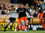 Billy Reeves of Port Vale in action with Paul Coutts of Sheffield Utd during the English League One match at Vale Park Stadium, Port Vale. Picture date: April 14th 2017. Pic credit should read: Simon Bellis/Sportimage