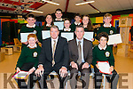 Annual Awards night in the Killorglin Community College last Thursday night.
