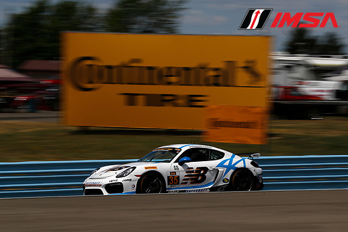 30 June - 2 July, 2016, Watkins Glen, New York, USA<br /> , 35, Porsche, Cayman GT4, GS, Tyler McQuarrie, Till Bechtolscheimer<br /> &copy;2016, Michael L. Levitt<br /> LAT Photo USA
