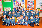 Ms Siobhan Daly with her Junior Infants Class at Scoil Eoin on Thursday morning. Front Row l-r: Franciszek Janusz, Ben Jorgi, Seamus Keenan, Suzanne Marzec, Lilian Marzek, Clodagh O'Sullivan, Trevor Lyons, Filip Kozeva. Middle Row l-r Chloe O'Halloran, Róisín Sheehy, Sophie Quillinan, Caoimhe Shanahan, Hollie Foran, Saoirse McCarthy, Eliot Calleja. Back row l-r Ali O'Brien, Maximilijan Vezemejenko, Samuel Gallagher, Ben Deegan, Ryan Nix, Ella O'Sullivan, Zofia Indyka, Maria Bailey, Shane Carey, Lexi O'Connor