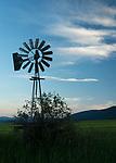 Old Wind Vane in the Kootenai valley in north Idaho