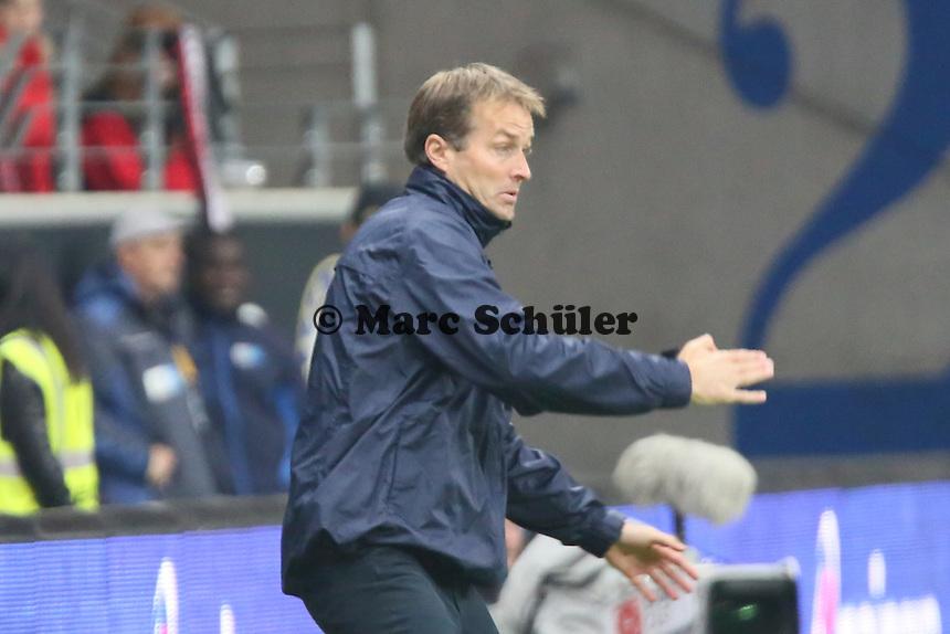 Trainer Kaspar Hjulmand (Mainz) - Eintracht Frankfurt vs. 1. FSV Mainz 05, Commerzbank Arena
