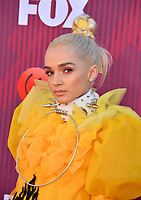 LOS ANGELES, CA. March 14, 2019: Poppy at the 2019 iHeartRadio Music Awards at the Microsoft Theatre.<br /> Picture: Paul Smith/Featureflash