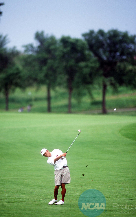 5 JUNE 1999: Ryuji Imada of the University of Georgia competes in the Men's Division I Golf Championship held at the Hazeltine National Golf Club in Chaska, MN. Imada placed second in the individual competition and his team took first place in the team competition. Bruce Kluckhohn/NCAA Photos.