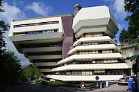 EU-Bürogebäude Hémicycle Européen auf dem Kirchberg Stadt Luxemburg, Luxemburg