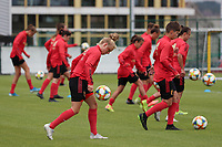 20200605 - TUBIZE , Belgium : Elena Dhont juggles the ball during a training session of the Belgian national women's soccer team called the Red Flames during their after Corona – Covid training week, on the 5 th of June 2020 in Tubize.  PHOTO SEVIL OKTEM| SPORTPIX.BE