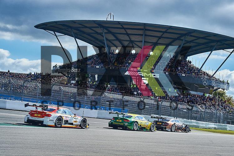 # 18 Augusto Farfus auf BMW M4 DTM vom BMW Team RBM, # 99 Mike Rockenfeller auf Audi RS5 DTM vom Audi Sport Team Phoenix und # 94 Pascal Wehrlein auf Mercedes-AMG C 63 DTM vom HWA  bei der DTM Nuerburgring.<br /> <br /> Foto &copy; PIX-Sportfotos *** Foto ist honorarpflichtig! *** Auf Anfrage in hoeherer Qualitaet/Aufloesung. Belegexemplar erbeten. Veroeffentlichung ausschliesslich fuer journalistisch-publizistische Zwecke. For editorial use only.