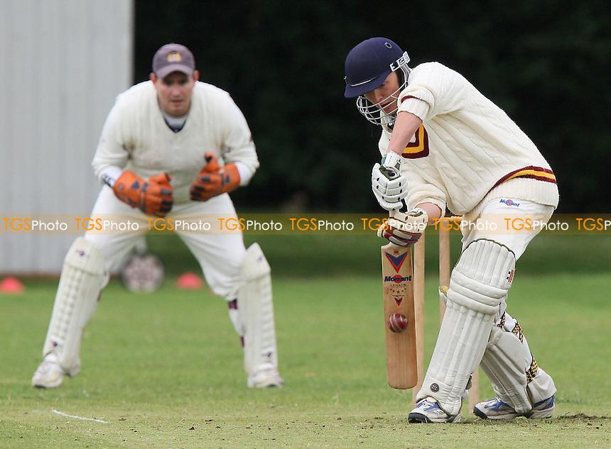 C Crosseley of Leyton in batting action - Hornchurch Athletic CC vs Leyton County CC - Lords International Cricket League at Hylands Park - 12/07/08 - MANDATORY CREDIT: Gavin Ellis/TGSPHOTO - Self billing applies where appropriate - Tel: 0845 094 6026.