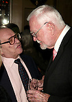 Sidney Lumet .and Frank Pierson ( President of the Academy).Attending a New York celebration in anticipation of director Sidney Lumet's Honorary Academy Award, which will be presented at the upcoming 77th Annual Academy Awards at Arabelle at the Plaza Athenee in New York City..February 23, 2005.