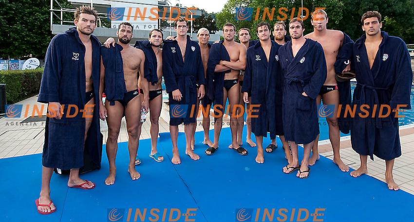 Team Usa<br /> final 3rd-4th   Brazil BRA (white) - United States USA (blue)<br /> day 06 - 28/06/2015<br /> FINA Water Polo World League Superfinal Men<br /> Bergamo (ITA) 23-28 June 2015<br /> Photo G.Scala/Deepbluemedia