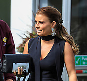 14h April 2018, Aintree Racecourse, Liverpool, England; The 2018 Grand National horse racing festival sponsored by Randox Health, day 3; Colleen Rooney in attendance at The Grand National