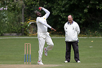 Ryan Cunningham of Crouch End during Crouch End CC (fielding) vs Waltham CC, ECB National Club Championship Cricket at The Calthorpe Ground on 9th June 2019