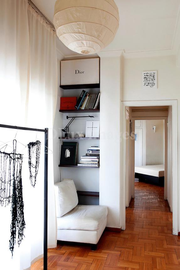 sitting room with wooden floor