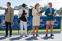 The Ground Jury: Anne Tylee(NZL); Marilyn Payne (USA); Christian Landolt (SUI): during The 1st Horse Inspection for the CCI2*. 2018 AUS-Mitsubishi Motors Australian International 2 Day Event. Wednesday 14 November. Copyright Photo: Libby Law Photography