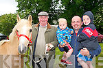 Lixnaw Horse Fair: Attending the Lixnaw horse fair on Sunday last were Brendan Carmody, Tarbert & Rian, Paul & Arron O'Connell from Lixnaw.