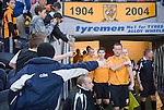 Hull City 3 Preston North End 0, 10/11/2007. KC Stadium, Championship. Hull captain Ian Ashbee shuns the attention of his adoring public. Photo by Paul Thompson.