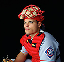 Texas Rangers Ivan Rodriguez (7) portrait from his 1997 season with the Texas Rangers. Ivan Rodriguez played for 21 years, with 6 different team, was a 14-time All-Star and American League MVP in 1999 and was inducted to the Baseball Hall of Fame in 2017.(SportPics)