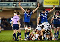 Elliott Stooke of Bath Rugby. Premiership Rugby Cup match, between Bath Rugby and Gloucester Rugby on February 3, 2019 at the Recreation Ground in Bath, England. Photo by: Patrick Khachfe / Onside Images
