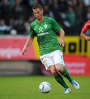 FUSSBALL   1. BUNDESLIGA   SAISON 2011/2012   TESTSPIEL SV Werder Bremen - Olympiakos Piraeus             26.07.2011 Markus ROSENBERG (SV Werder Bremen) Einzelaktion am Ball