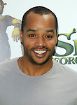 "UNIVERSAL CITY, CA. - May 16: Donald Faison arrives at the ""Shrek Forever After"" Los Angeles Premiere at Gibson Amphitheatre on May 16, 2010 in Universal City, California."