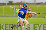 Kerry's Liam Boyle pulls for the point as Meath's Michael Foley arrives to late in the high scoring 3rd round of the Christy Ring Cup at Austin Stack Park on Saturday.   Copyright Kerry's Eye 2008