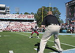 13 October 2007: South Carolina's Marvin Sapp (53). The University of South Carolina Gamecocks defeated the University of North Carolina Tar Heels 21-15 at Kenan Stadium in Chapel Hill, North Carolina in an NCAA College Football Division I game.
