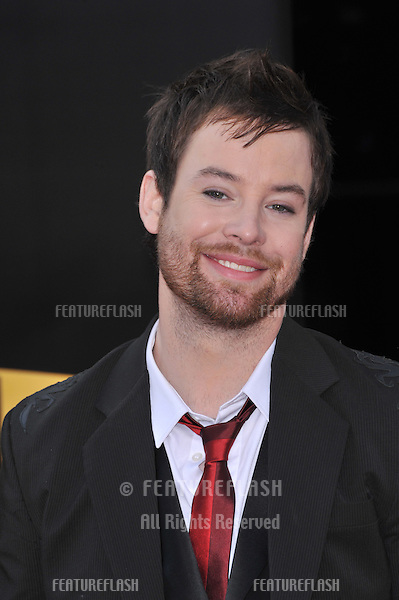 David Cook at the 2008 American Music Awards at the Nokia Live! Theatre, Los Angeles..November 23, 2008 Los Angeles, CA.Picture: Paul Smith / Featureflash