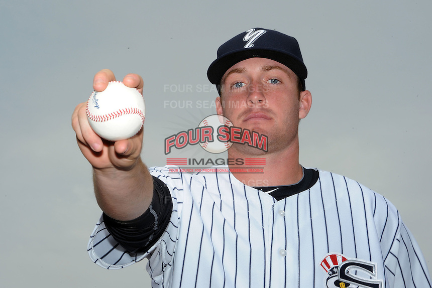 Staten Island Yankees pitcher Chase Whitley (47) during first team workout at Richmond County Bank Ballpark at St. George in Staten Island, NY June 15, 2010.  Photo By Tomasso DeRosa/ Four Seam Images