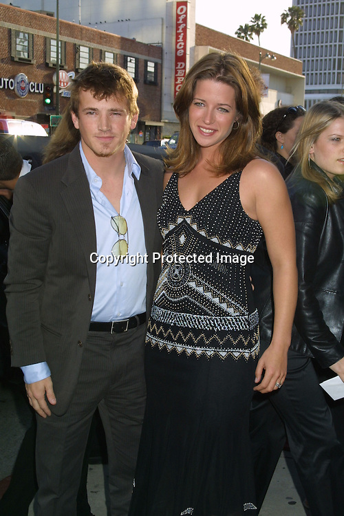 ©2003 KATHY HUTCHINS /HUTCHINS PHOTO.AMC & MOVIELINE'S HOLLYWOOD LIFE MAGAZINE'S .YOUNG HOLLYWOOD AWARDS.EL REY THEATER.LOS ANGELES, CA.MAY 4, 2003..WILLIAM LEE SCOTT.WIFE