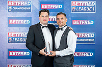 Picture by Allan McKenzie/SWpix.com - 25/09/2018 - Rugby League - Betfred Championship & League 1 Awards Dinner 2018 - The Principal Manchester- Manchester, England - Club Foundation of the Year goes to the York City Knights.