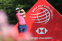 Corey Conners (CAN) on the 2nd tee during round 1 at the WGC HSBC Champions, Sheshan Golf Club, Shanghai, China. 31/10/2019.<br /> Picture Fran Caffrey / Golffile.ie<br /> <br /> All photo usage must carry mandatory copyright credit (© Golffile | Fran Caffrey)