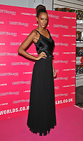 Judi Shekoni (Judthi Shekoni) at the Bodyworlds human anatomy exhibition VIP launch, The London Pavilion, Piccadilly Institute, London, England, UK, on Thursday 04 October 2018.<br /> CAP/CAN<br /> &copy;CAN/Capital Pictures
