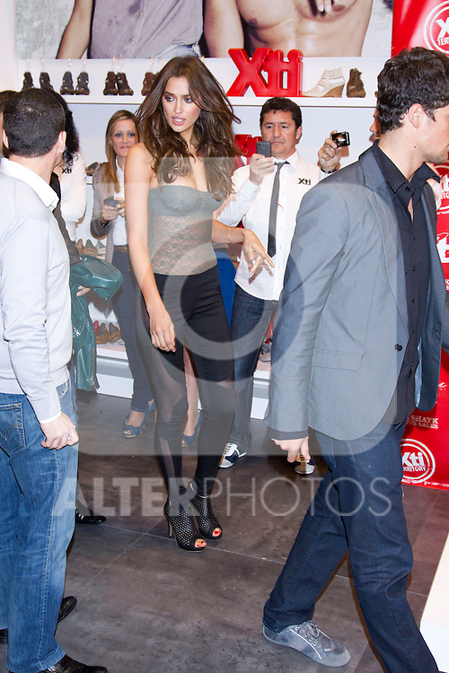Irina Shayk and Arthur Sales promote XTI shoes at modacalzado fery in Madrid, March 14th 2011...Photo: Miguel Cordoba / ALFAQUI