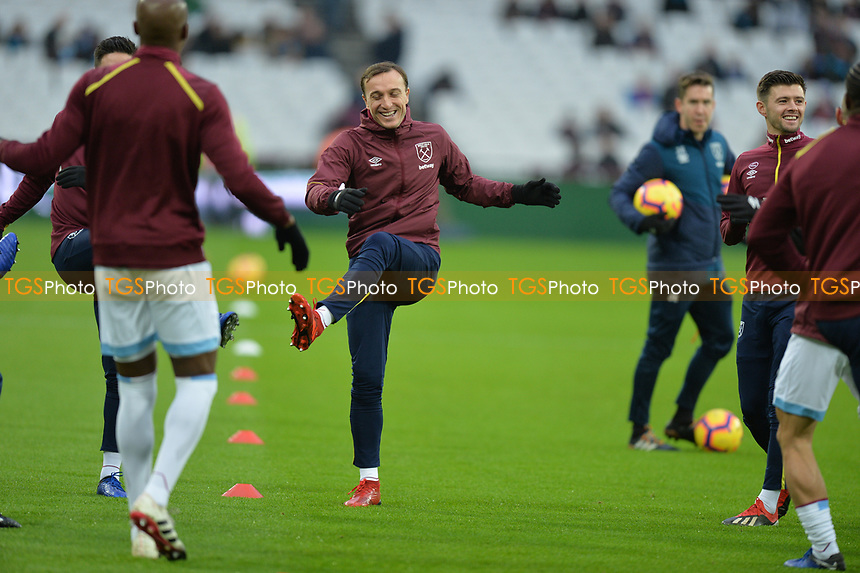 Mark Noble of West Ham United during West Ham United vs Arsenal, Premier League Football at The London Stadium on 12th January 2019
