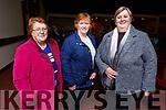 Breda O'Connor (Kilflynn), Ann Kelliher (Ballyduff) and Elaine Fitzgerald (Lixnaw) attending the Abbeydorney Church Concert on Sunday evening.