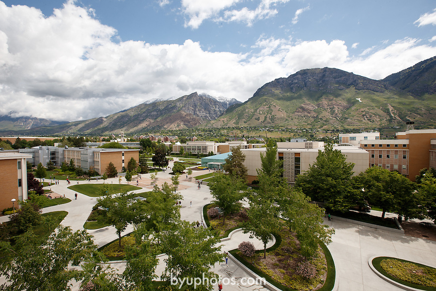 1305-51 232<br /> <br /> GCS Spring: View from JFSB Balcony.<br /> <br /> Y Mountain, JFSB Quad, Overall, JKB, HFAC, Clouds, HBLL<br /> <br /> May 29, 2013<br /> <br /> Photo by Jaren Wilkey/BYU<br /> <br /> © BYU PHOTO 2013<br /> All Rights Reserved<br /> photo@byu.edu  (801)422-7322