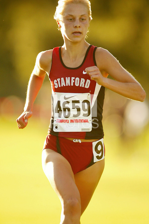 24 September 2005: Lindsay Flacks during the Stanford Invitational at the Stanford Golf Course in Stanford, CA.
