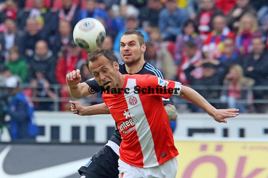 Kopfball Nicolce Noveski (Mainz) - 1. FSV Mainz 05 vs. Hamburger SV, Coface Arena, 34. Spieltag
